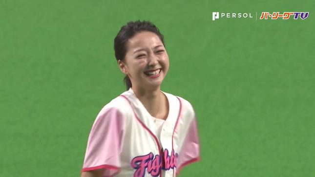 畠山愛理 日本ハム-巨人 始球式 29
