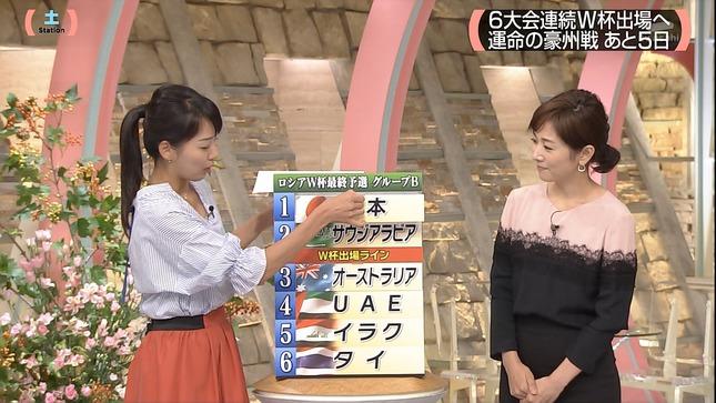 紀真耶 高島彩 サタデー サンデーステーション 16