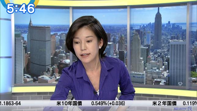 西野志海 ニュースモーニングサテライト 3
