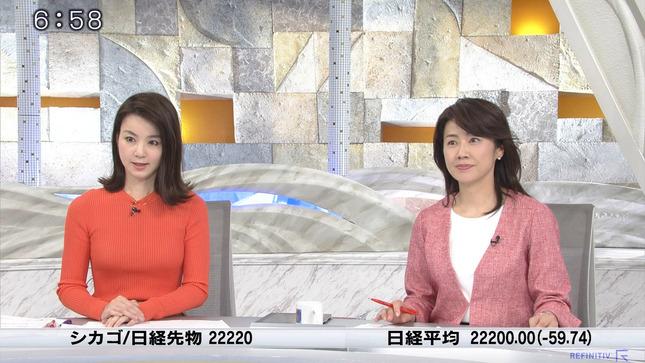 秋元玲奈 ニュースモーニングサテライト 12