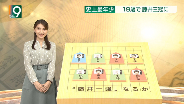 豊島実季 ニュースウオッチ9 6