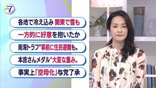 鈴木奈穂子 NHKニュース7 17