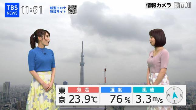 出水麻衣 TBSニュース 7