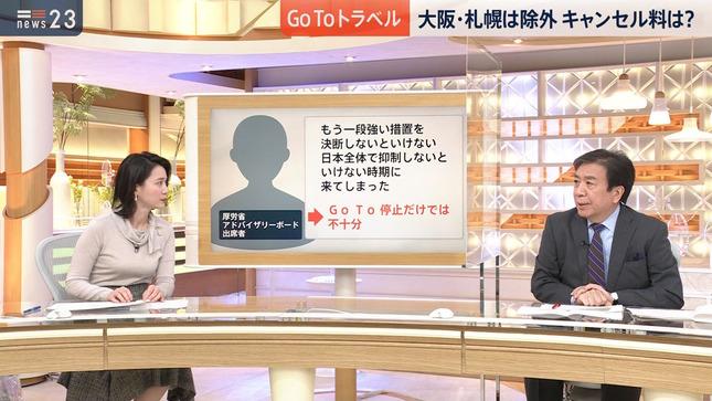 小川彩佳 news23 TBSニュース 8