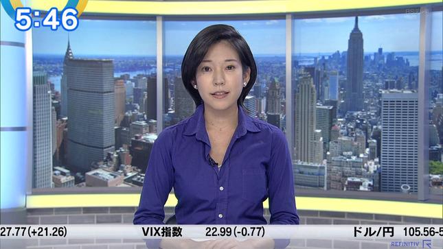 西野志海 ニュースモーニングサテライト 1