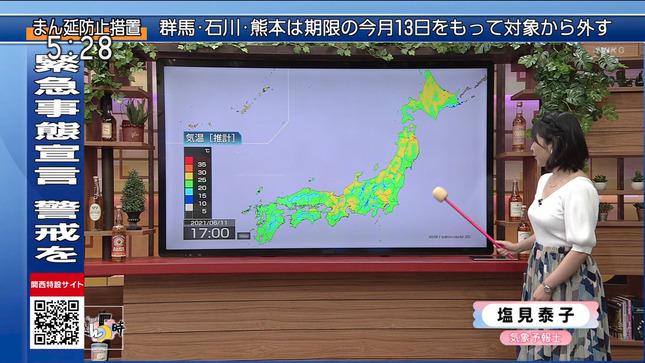 塩見泰子 ニュースきん5時 8