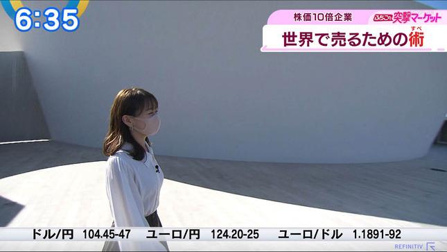 片渕茜 ニュースモーニングサテライト 5