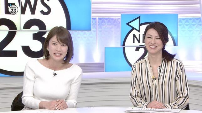 宇内梨沙 News23 皆川玲奈 10