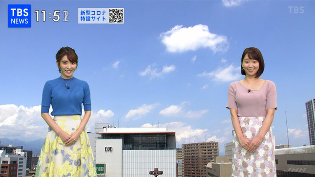 出水麻衣 TBSニュース 8