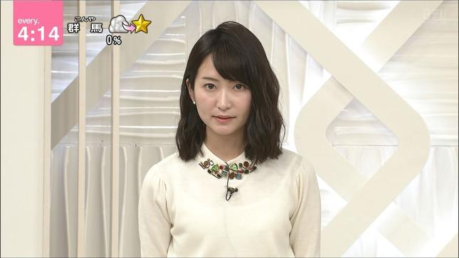 中島芽生アナの透けニット!
