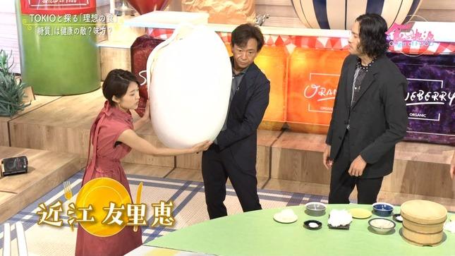 近江友里恵 あさイチ 食の起源 8