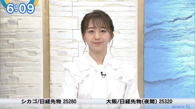 片渕茜 ニュースモーニングサテライト 2