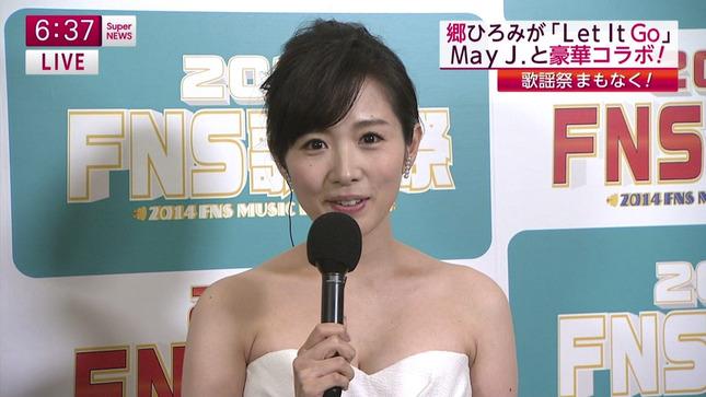 高島彩 加藤綾子 2014 FNS歌謡祭 09