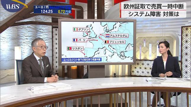 大江麻理子 ワールドビジネスサテライト 6
