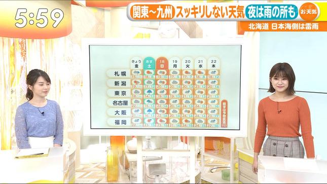 與猶茉穂 ウィークエンドウェザー TBSニュース はやドキ! 17