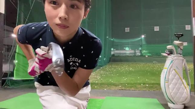 田中萌アナが120を切るまでの物語 4