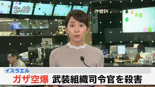 出水麻衣 JNNニュース 6