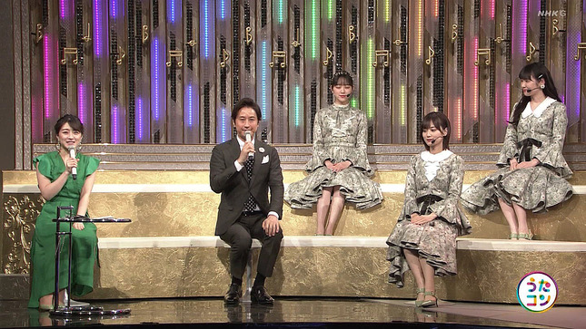 赤木野々花 日本人のおなまえっ! うたコン NHKニュース7 15