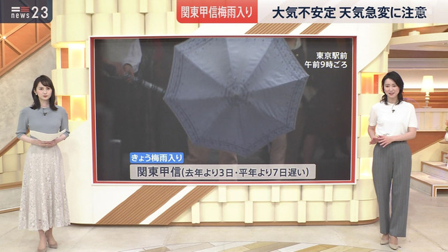 小川彩佳 news23 18