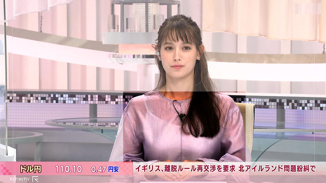 トラウデン直美 日経ニュースプラス9 15