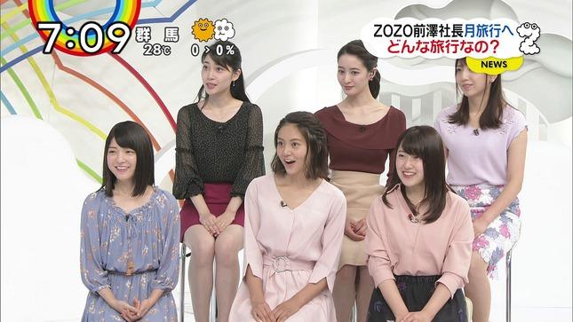 熊谷江里子 森遥香 團遥香 ZIP! 10