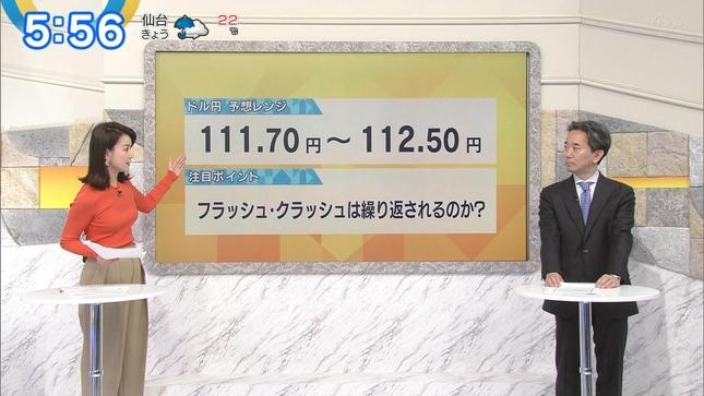 秋元玲奈 ニュースモーニングサテライト 6