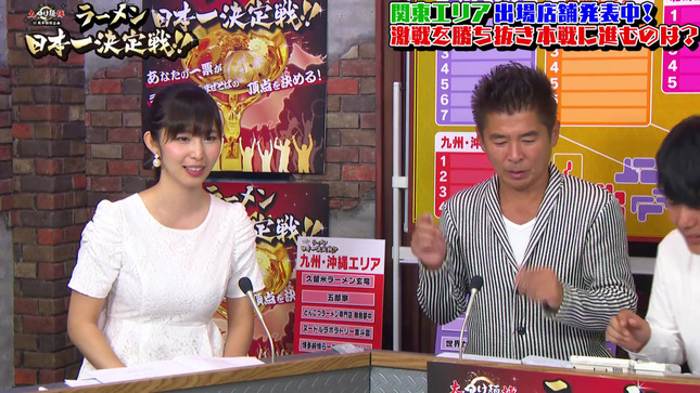 塩地美澄 ラーメン日本一決定戦 予選通過発表 11