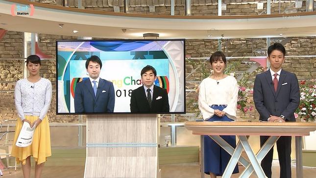 紀真耶 高島彩 サタデーサンデーステーション 16