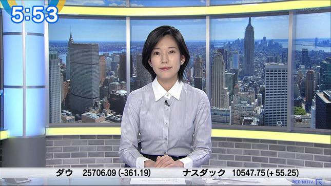 西野志海 ニュースモーニングサテライト 7