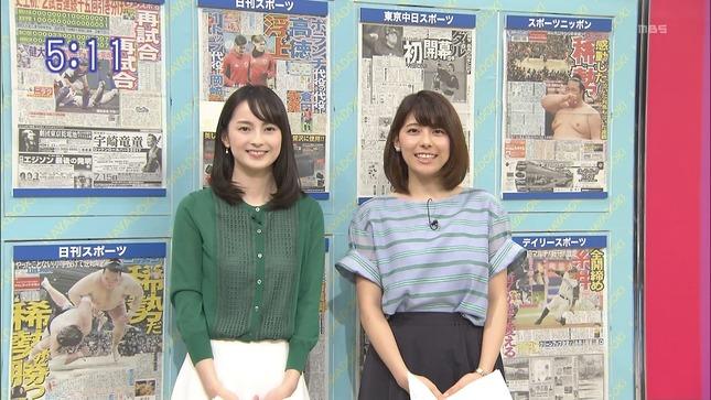 山本恵里伽 はやドキ! 上村彩子 小林由未子 3