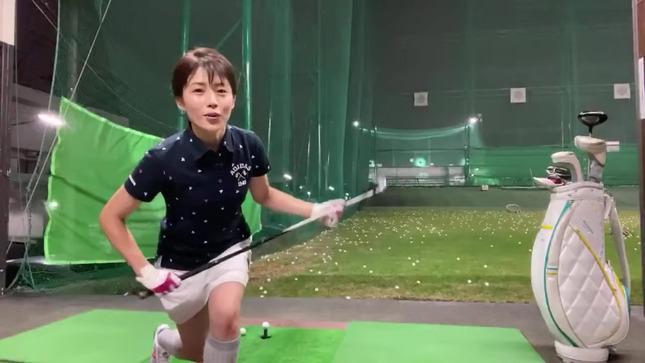 田中萌アナが120を切るまでの物語 8