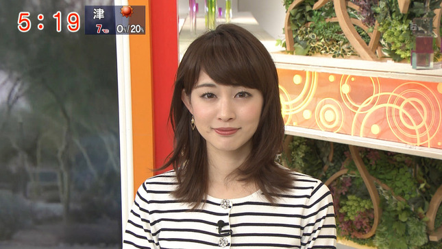 新井恵理那 グッド!モーニング 松尾由美子 2