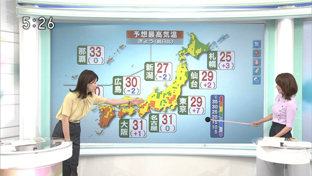 近藤奈央 おはよう日本 2