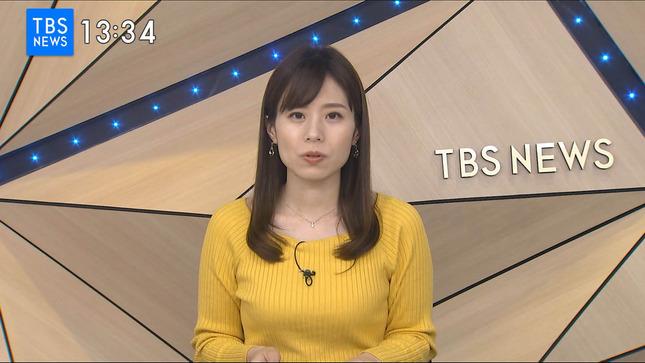 河野千秋 TBS NEWS 1