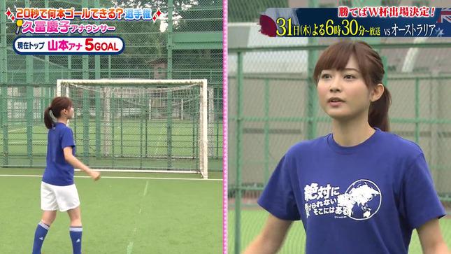 久冨慶子 女子アナキックチャレンジ 4