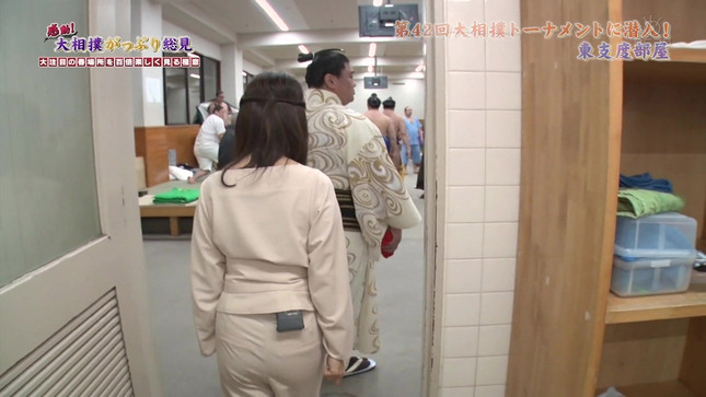 唐橋ユミ 感動!大相撲がっぷり総見 14