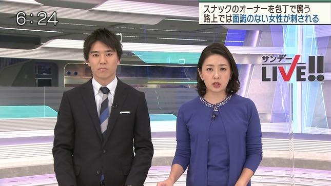 矢島悠子 スーパーJチャンネル サンデーLIVE!! ANNnews 1
