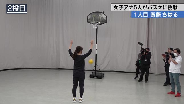 斎藤ちはる テレ朝女子アナバスケ女王決定戦 7