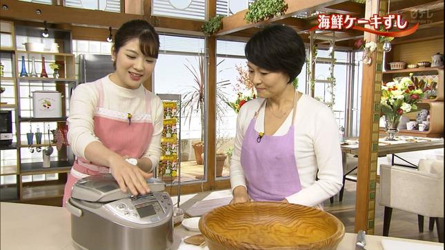佐藤真知子 ズームイン!!サタデー  キユーピー3分クッキング 16