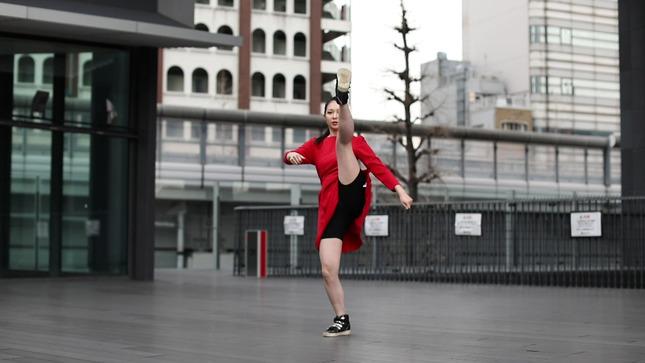 住田紗里アナが本気でフル尺踊ってみた 女子アナダンス部 11