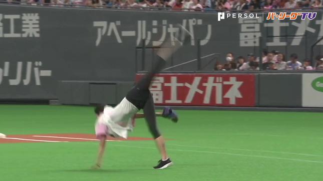 畠山愛理 日本ハム-巨人 始球式 3