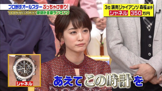 新井恵理那 ジョブチューン 新・情報7daysニュースキャスター 7