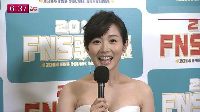 高島彩 加藤綾子 2014 FNS歌謡祭 11