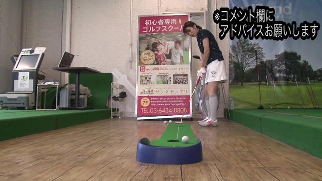 田中萌アナが120を切るまでの物語 14