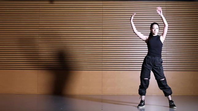 住田紗里アナが本気でフル尺踊ってみた 女子アナダンス部 16