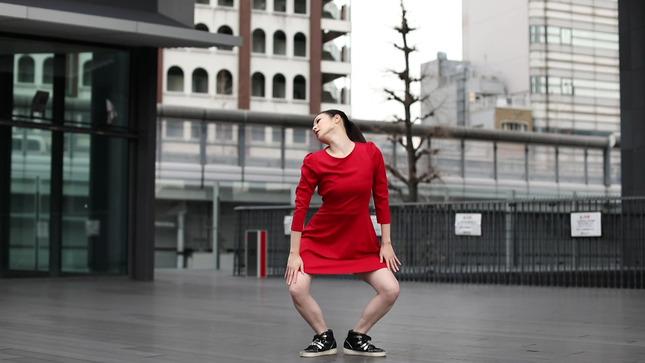 住田紗里アナが本気でフル尺踊ってみた 女子アナダンス部 12