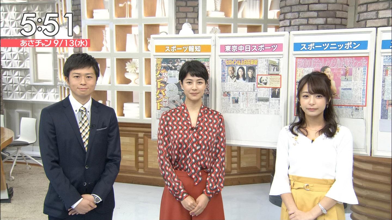 宇垣美里アナと夏目三久アナ あさチャン☆