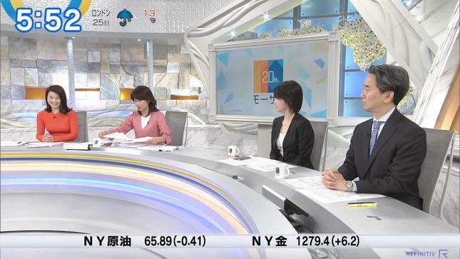 秋元玲奈 ニュースモーニングサテライト 3