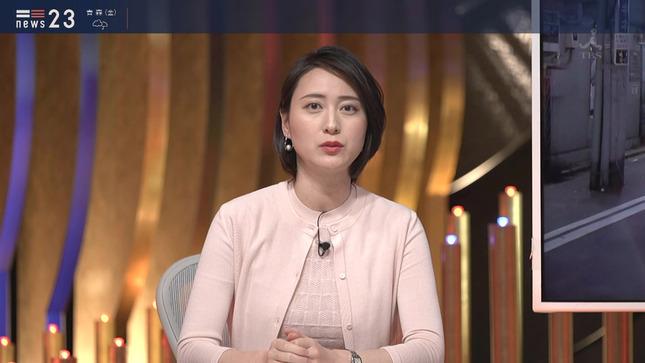 小川彩佳 news23 山本恵里伽 7