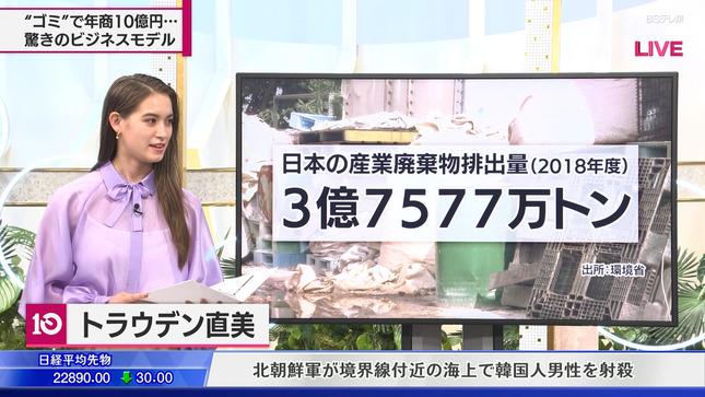 トラウデン直美 日経プラス10 2